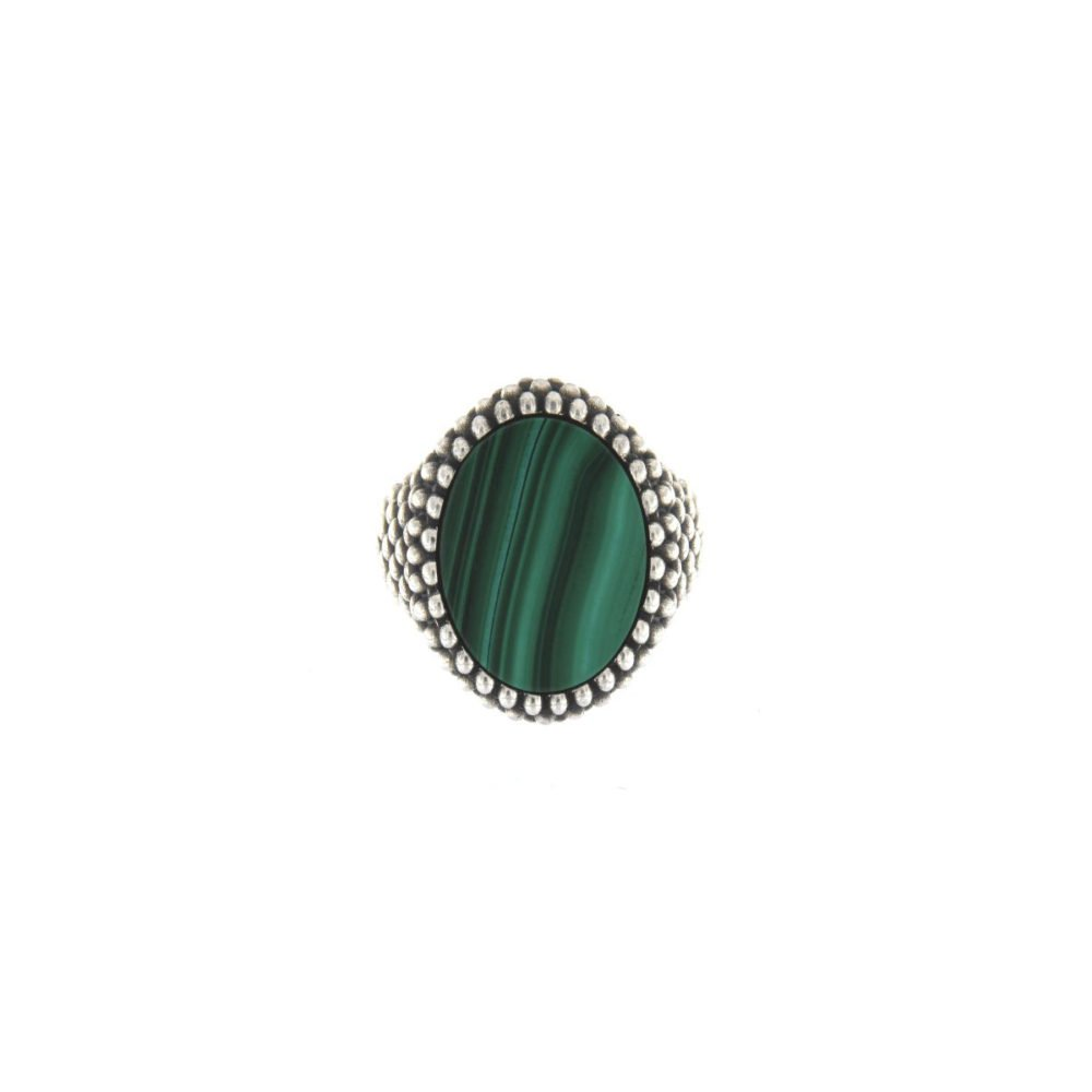 OVALE SPHERE MALACHITE PICCOLO
