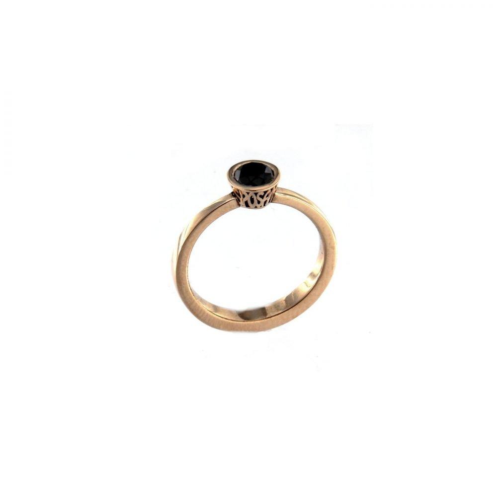Solitario Sposami Oro Rosa 040