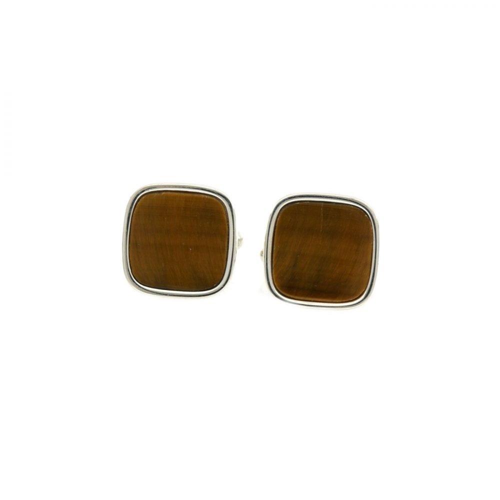 Gemelli Antique Occhio di Tigre